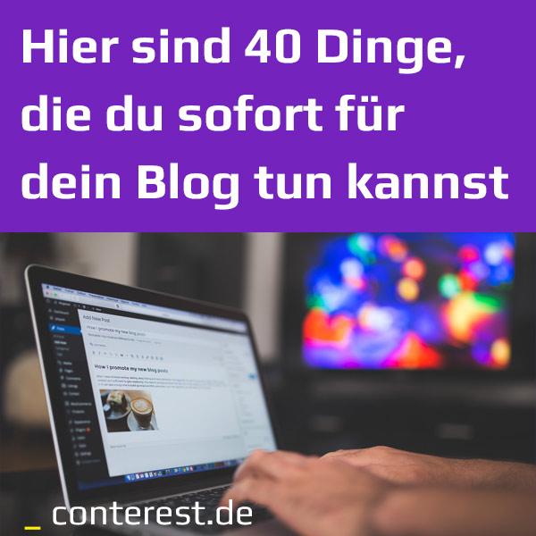 DER, DIE oder DAS Blog?