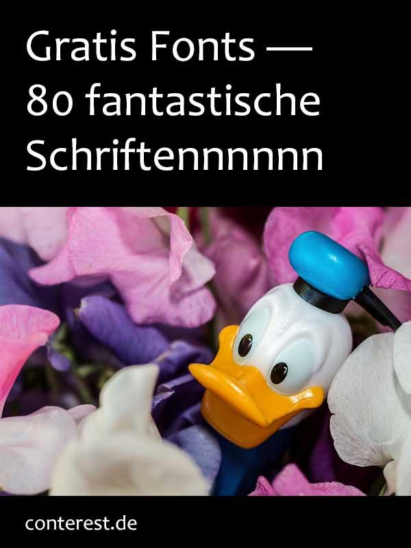 Gratis Fonts - 80 fantastische Schriften