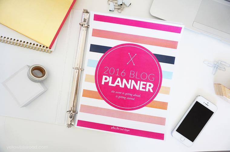 Navy-Blog-Planner