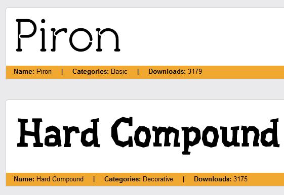kostenlose fonts actionfonts