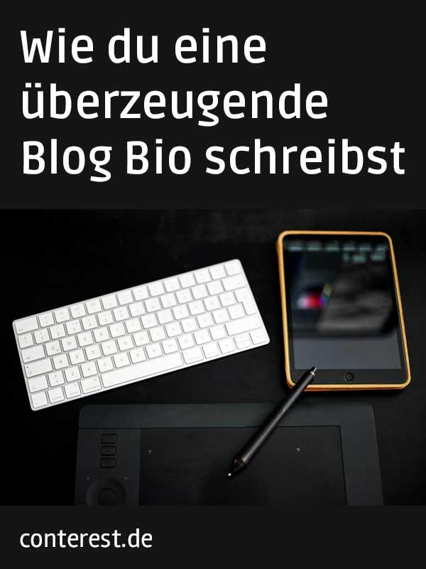 Wie du eine überzeugende Blog Bio schreibst