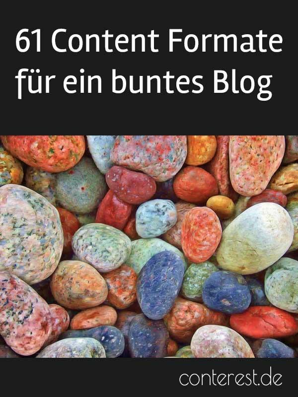 61 Content Formate mit denen du dein Blog bunt & abwechslungsreich machst