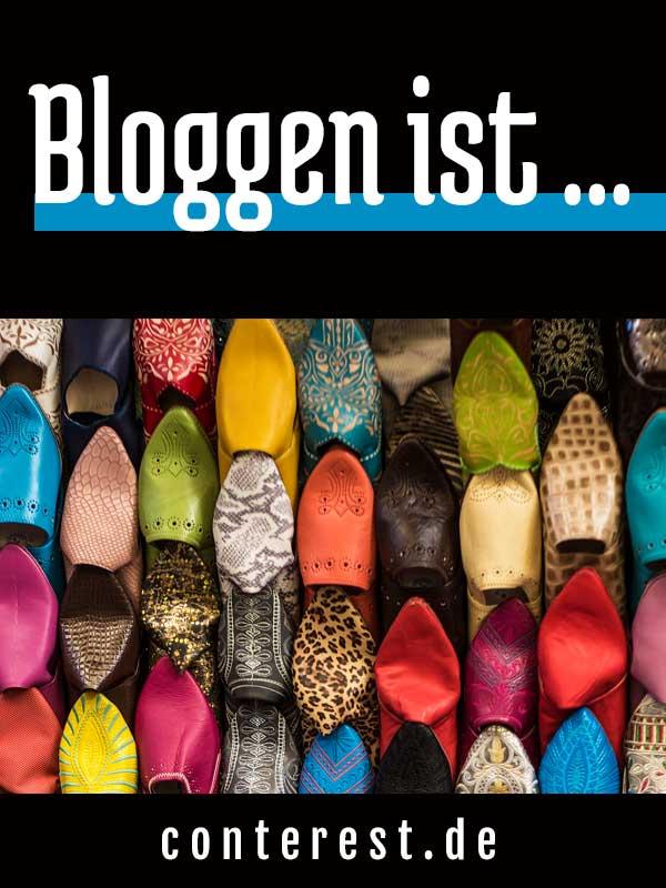 Bloggen ist die ganze Welt! Bloggen ist …