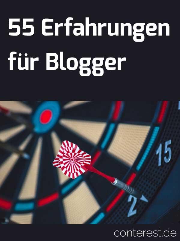55 Blogger Erfahrungen