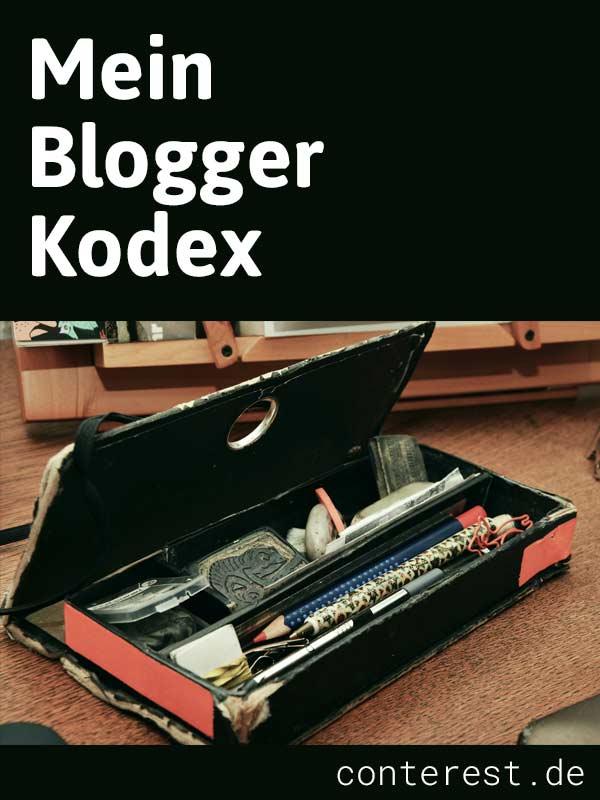 Mein Blogger Kodex - So nehme ich Rücksicht auf meine Leser
