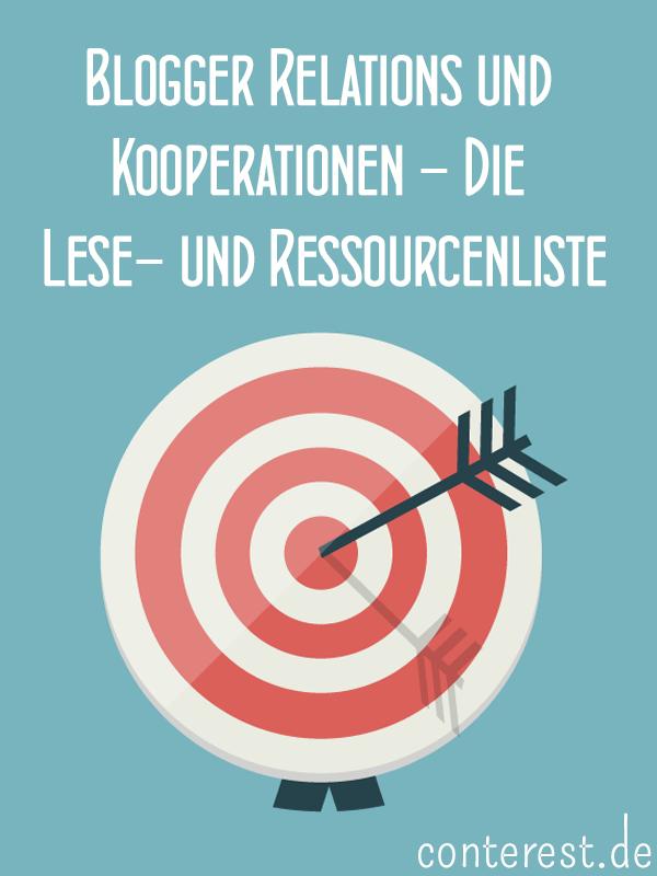 Blogger Relations und Kooperationen Lese- und Ressourcenliste