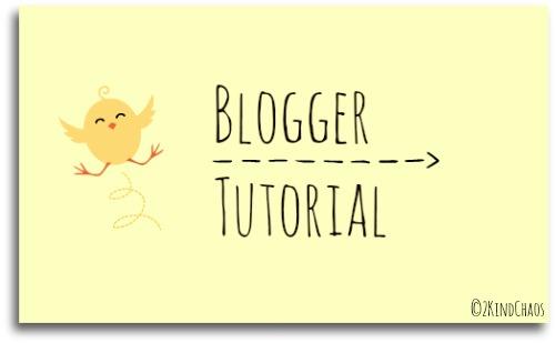 bloggertutorial