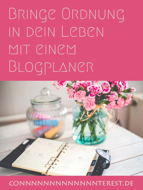 Blogplaner - Bringe Ordnung in dein Onlineleben