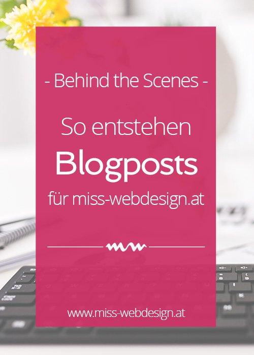 So entsteht ein Blogpost