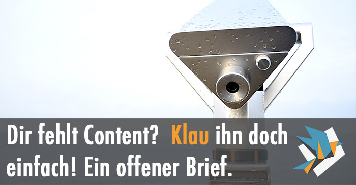 content-klau