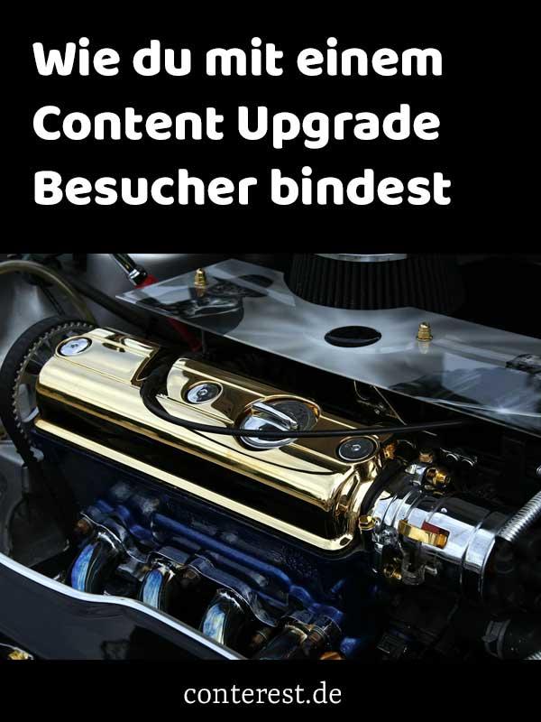 Wie du mit einem Content Upgrade Besucher bindest