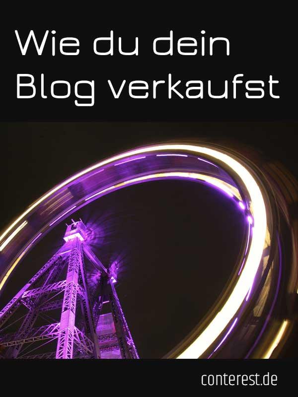Wie du dein Blog verkaufst