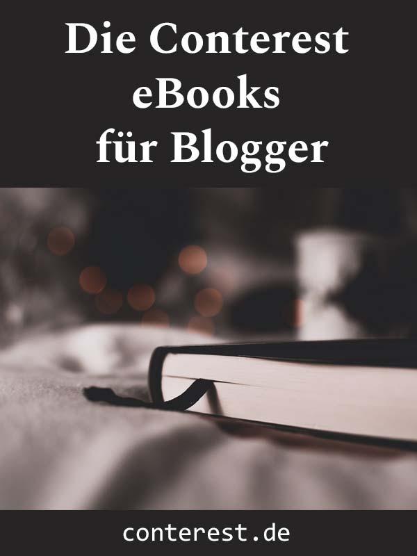 Die Conterest eBooks für Blogger - Jetzt auch im günstigen Bundle!