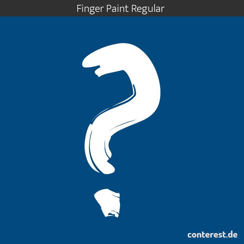 fragezeichen-google-fonts-fingerpaint