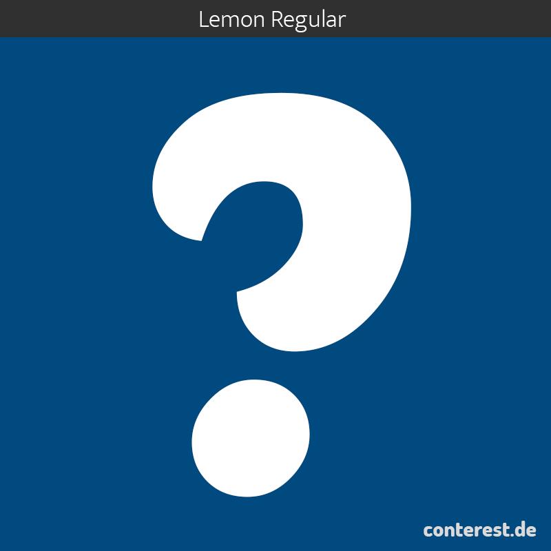 fragezeichen-google-fonts-lemon