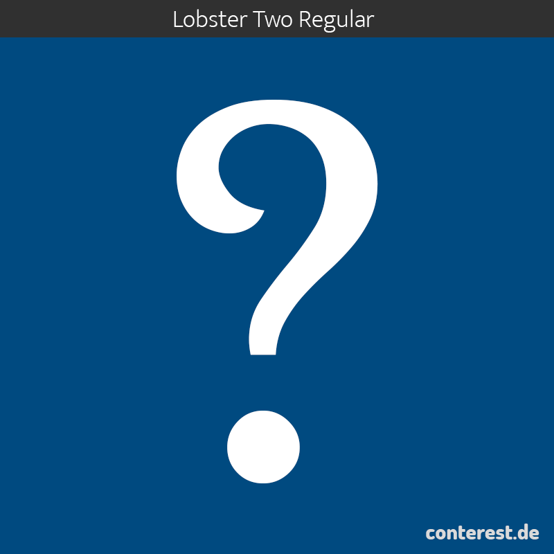 fragezeichen-google-fonts-lobstertwo