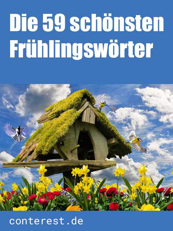 Die 59 schönsten Frühlingswörter – Liste der Wörter mit Frühling