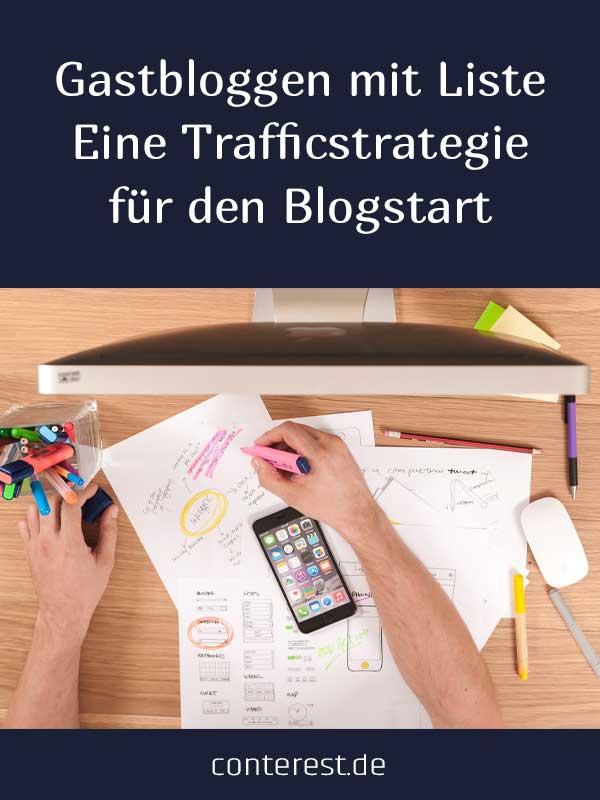 Gastbloggen mit Liste als lohnende Trafficstrategie für den Blogstart