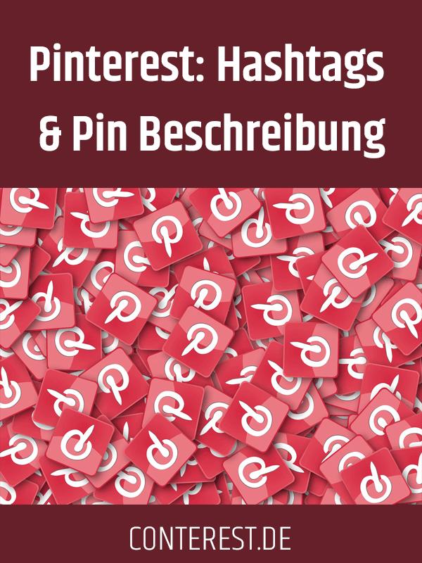 Pinterest: Hashtags und Pin Beschreibung