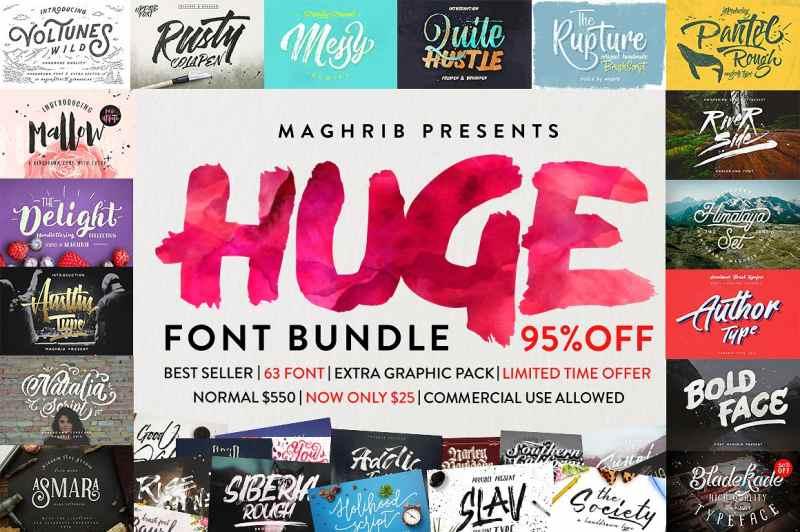 31 irrsinnig schöne Brush Script Fonts kostenlos