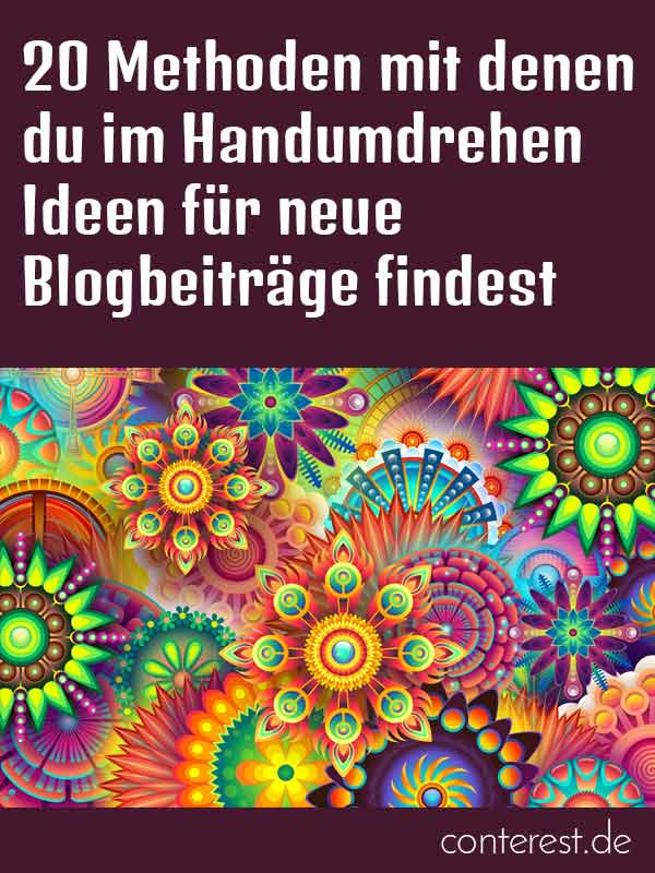 die besten blogs f r blogger in deutscher sprache conterest blog. Black Bedroom Furniture Sets. Home Design Ideas