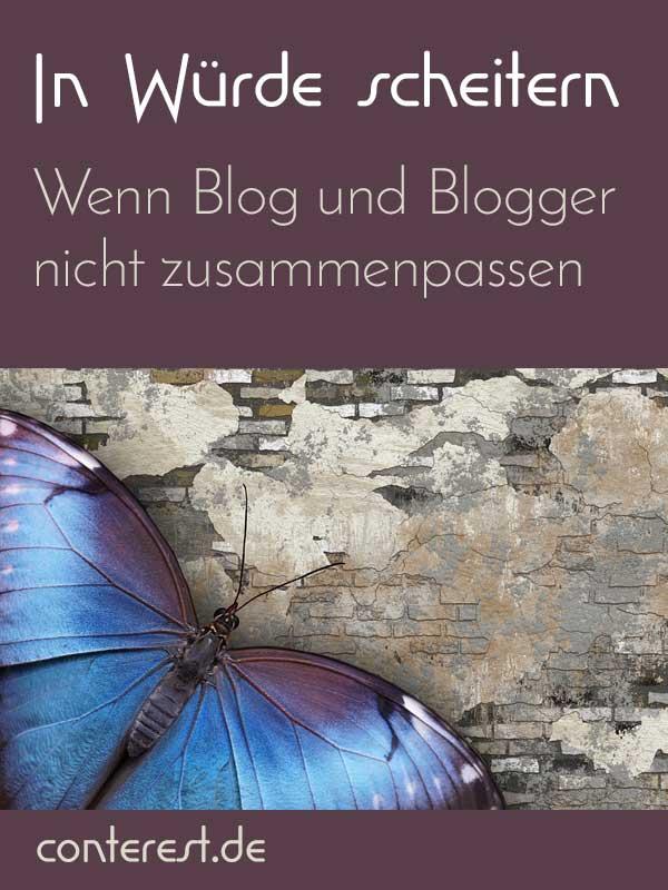Wenn Blog und Blogger nicht zusammenpassen