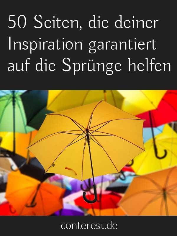 50 Seiten, die deiner Inspiration garantiert auf die Sprünge helfen