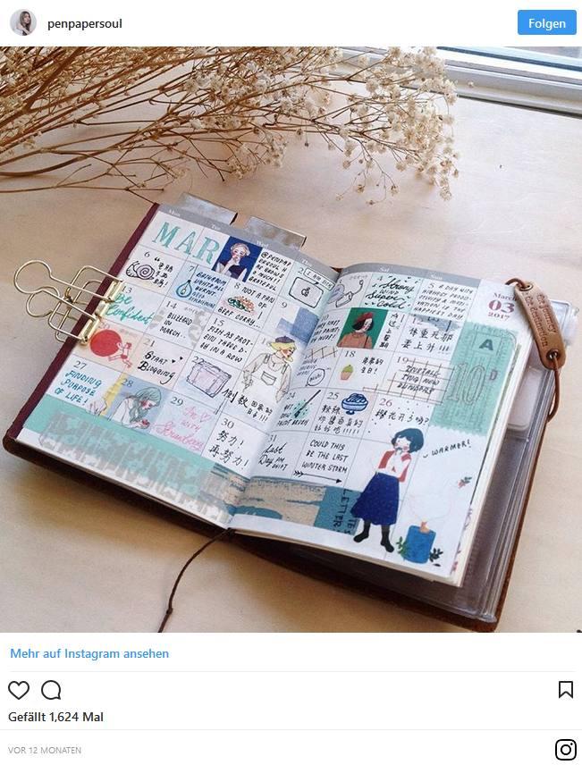 Bullet Journal – Blog und Alltag kreativ organisiert 1
