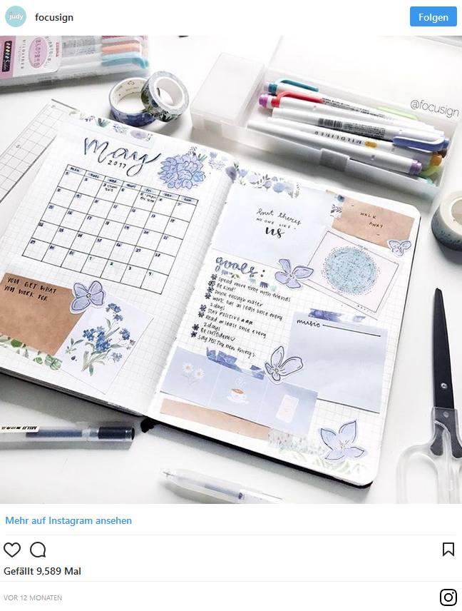 Bullet Journal – Blog und Alltag kreativ organisiert 2