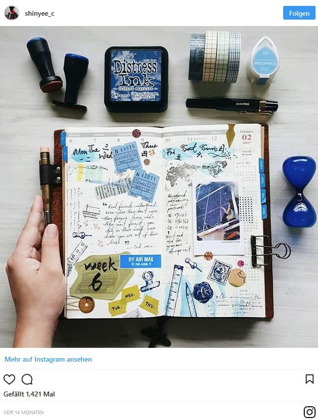 Bullet Journal – Blog und Alltag kreativ organisiert 3