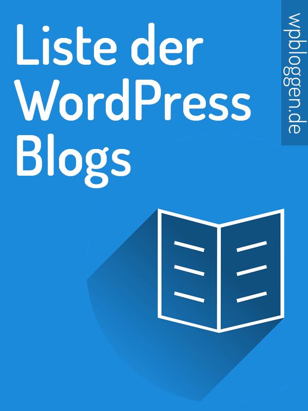 Liste der besten WordPress Blogs