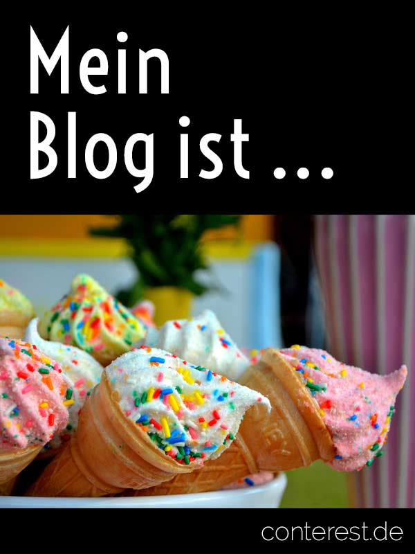 Mein Blog ist ...