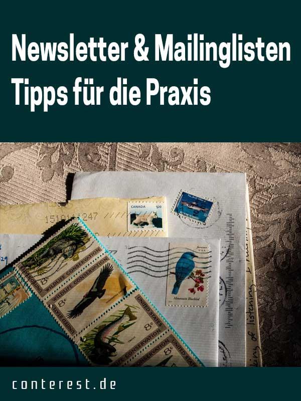 Newsletter und Mailinglisten: Tipps für die Praxis