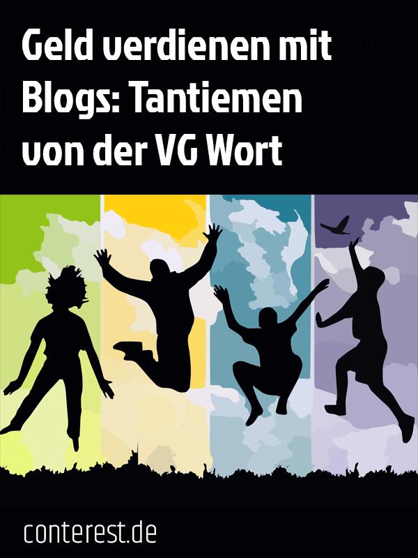 Tantiemen von der VG-Wort für Autoren und Blogger