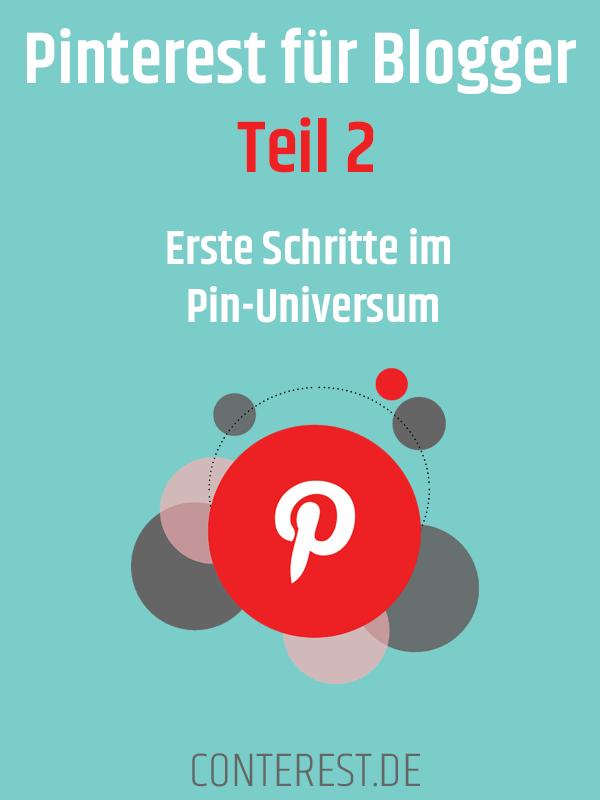 Pinterest für Blogger Erste Schritte im Pin-Universum