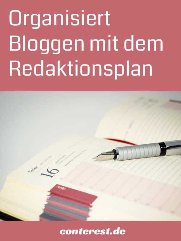 Wie du mit einem Redaktionsplan organisierter blogst