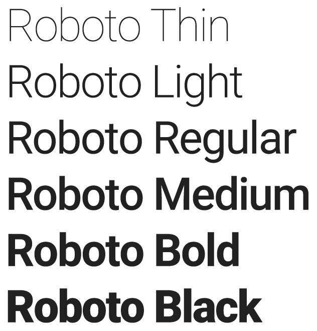 roboto-typo