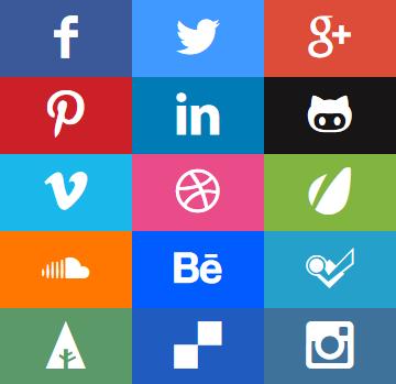 Social Media Bars