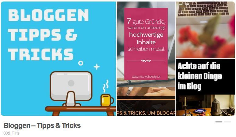 Pinterest 📌 für Blogger (2) Erste Schritte im Pin-Universum 1