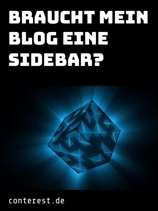 Braucht mein Blog eine Sidebar (Seitenleiste)?