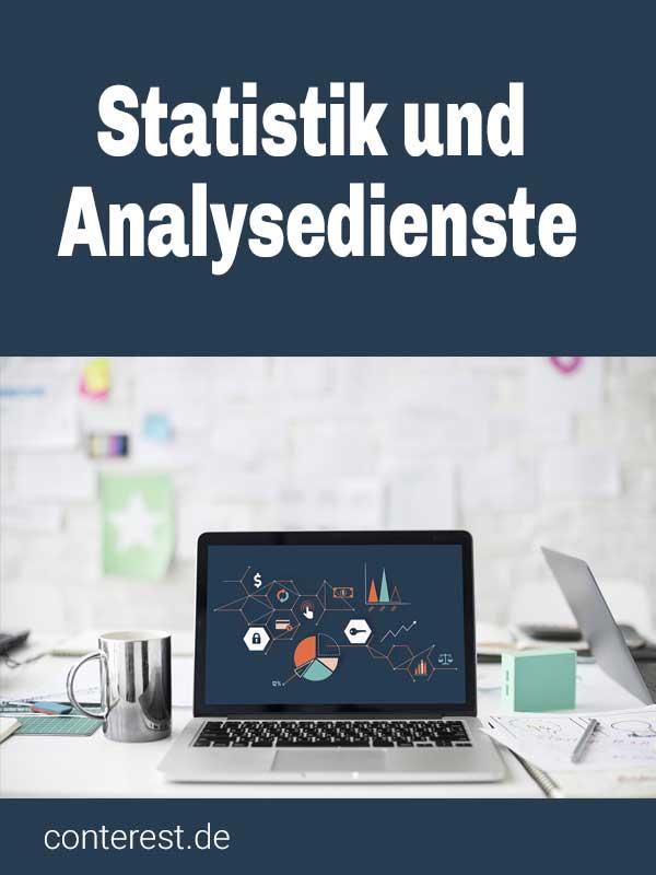 Statistik- und Analysedienste für Blogger und Seitenbetreiber