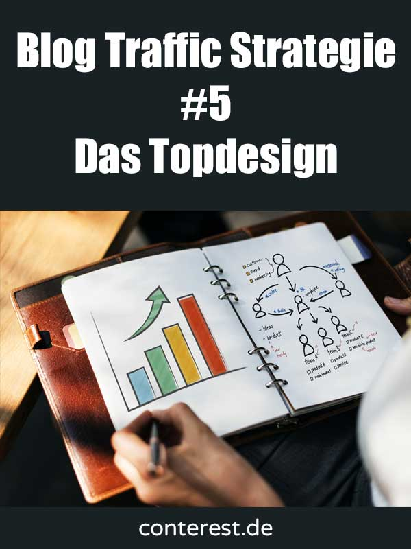 Blog Traffic Strategie #5 – Sorge für ein Topdesign