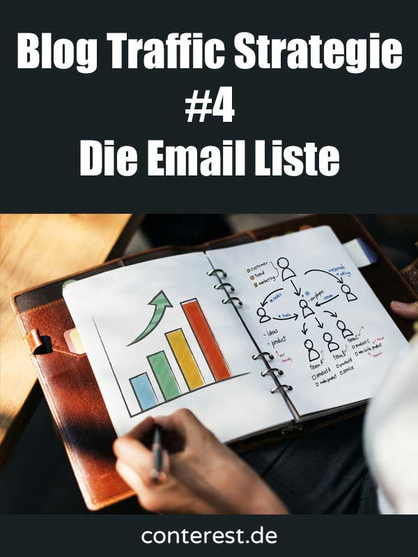 Blog Traffic Strategie #4 – Starte eine Email Liste