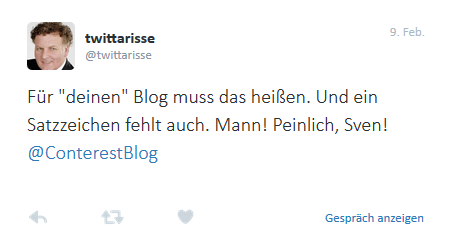 der oder das blog