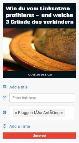 Pinterest 📌 für Blogger (9) Besser pinnen mit den richtigen Tools 5