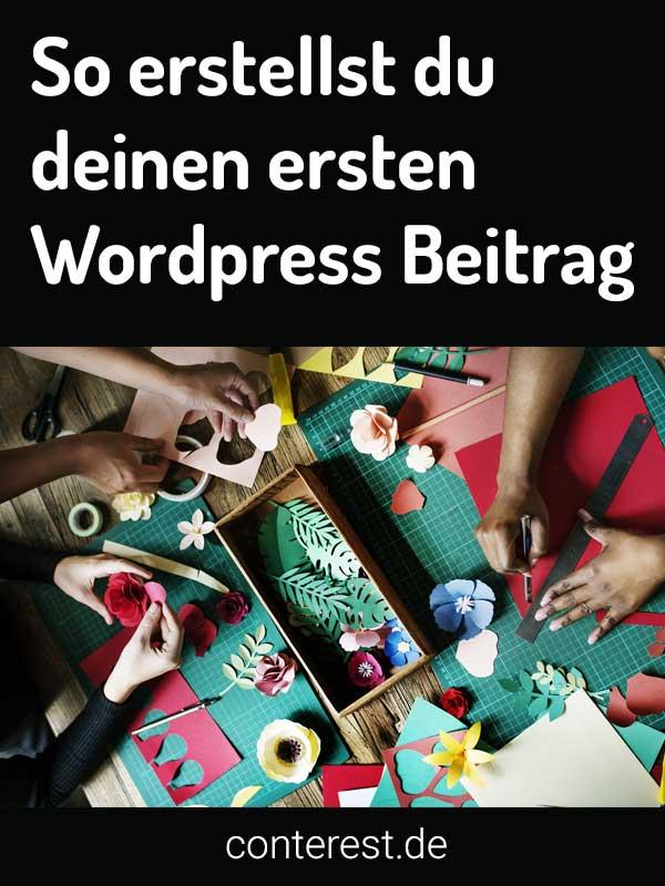 Wordpress Beitrag erstellen