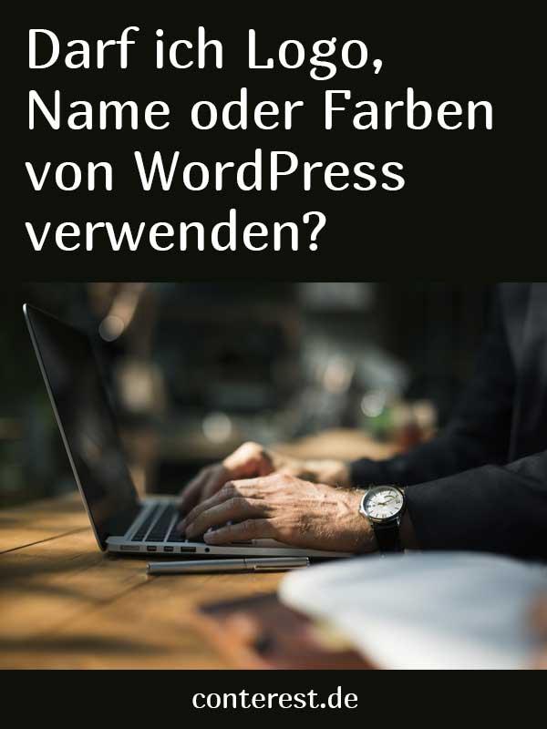 Darf ich Logo, Name oder Farben von WordPress verwenden?
