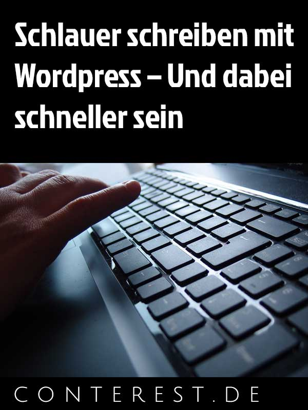 Wordpress Shortcuts Schreiben
