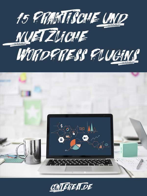 15 praktische und nützliche Wordpress Plugins