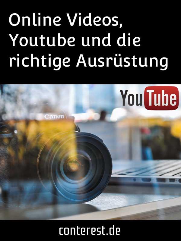 Wie du dir die perfekte Youtube Ausrüstung zusammenstellst
